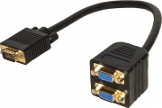 Nilox LKADAT06 Adattatore Splitter VGA Maschio Femmina
