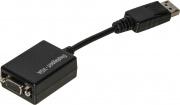 Nilox LKADAT19 Adattatore DisplayPort VGA colore Nero