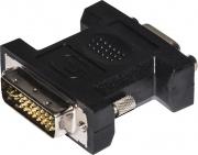 Nilox LKADAT29 Adattatore DVI-I VGA colore Nero