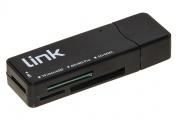 Nilox LKCCH04 Lettore di Schede Card Reader USB 3.0 (3.1 Gen 1) Nero