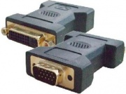 Nilox NX080200114 Adattatore VGA DVI-I colore Nero