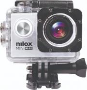 "Nilox NXMWF2001 Action Cam 4K Ultra HD 20 Mpx CMOS Display 2"" microSD Silver Mini Wi-fi 2"