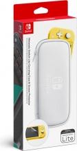 Nintendo 10002757 Custodia Case Switch Lite White + Screen Protector