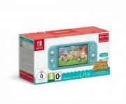 Nintendo 10005233 Switch Lite Console 32GB WiFi Turchese + Gioco Animal Crossing 10005232