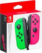 Nintendo 2512366 Joy-Con LR Controller Wireless colore Verde  Fucsia