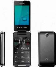 "Nodis Telefono Cellulare Dual SIM 2,8"" GSM 0,8 Mpx Bluetooth Nero NC-28"