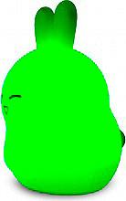 Nodis Lampada LED notturna comandi Touch Ricaricabile Verde - NT-BUNNYS