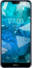 """Nokia 11CTLL01A07 7.1 Smartphone 5.8"""" Touch 32 Gb 4G WiFi GPS Android Blu"""