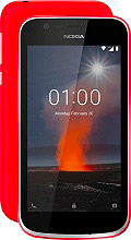 "Nokia 1 Smartphone Dual SIM 4.5"" Touch 1Gb8Gb 3G 4G Wi-Fi Android Rosso"