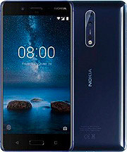 "Nokia 8 - Smartphone 5.3"" 64 Gb 4G WiFi Bluetooth GPS Android 7.1 11NB1L01A25"