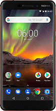 "Nokia 6.1 Smartphone Dual SIM 5.5"" Touch 3Gb 32Gb 4G NFC GPS Android 11PL2B01A08"