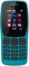 "Nokia 137300 110 Telefono Cellulare DUAL SIM 1.77"" Fotocamera Radio FM Mp3 Blu"