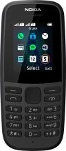 "Nokia 16KIGB01A08 105 2019 Smartphone DUAL SIM 1.77"" Touch Dual Band Radio Nero"