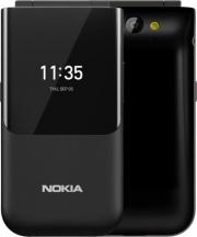 "Nokia 2720BLACK Flip Cellulare Smartphone DUAL SIM 2.8"" 3G 4G LTE Wifi GPS Nero 2720"