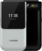 "Nokia 2720GREY Flip Cellulare Smartphone DUAL SIM 2.8"" 3G 4G LTE Wifi GPS Grigio 2720"