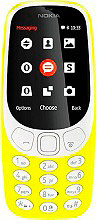 "Nokia 3310 Cellulare Display 2.4"" 2G Bluetooth Radio FM Snake Giallo 3310Y"