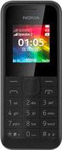 "Nokia 105 Telefono cellulare Dual SIM 1.4"" GSM Radio FM USB Nero A00025637 ITA"