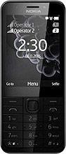 """Nokia 230 - Telefono Cellulare Dual SIM 2,8"""" EDGE GPRS GSM Bluetooth A00026932"""