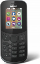 """Nokia A00028612 NOKIA 130 (2017) Cellulare Dual SIM 1.8"""" GSM Bluetooth Nero"""