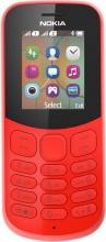 """Nokia A00028613 NOKIA 130 (2017) Telefono Dual SIM Display 1.8"""" GSM Rosso"""