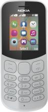 """Nokia A00028614 NOKIA 130 (2017) Telefono  Cellulare Dual SIM 1.8"""" GSM Grigio"""