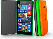 Nokia Cover Custodia libro Microsoft Lumia 535 Col. Grigio CC-3092