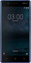 "Nokia 3 - Smartphone Android Dual Sim 5"" 16 Gb 4G Wifi bluetooth GPS Colore Nero"