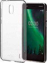 Nokia Slim Crystal Cover Cover Custodia  (Nokia 2) Trasparente CC104