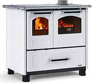 Nordica Extraflame FAMILY 4,5 Cucina a Legna con Forno 9 kW Ghisa 96x64cm Bianco Family 4.5