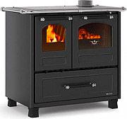 Nordica Extraflame FAMILY 4,5 Cucina a Legna con Forno 9 kW Ghisa 96x64 cm Nero Family 4.5