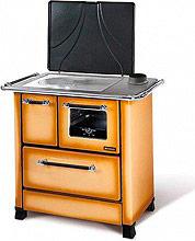 Nordica Extraflame ROMANTICA 3,5 Cucina a Legna con Forno 5 kW Ghisa 87x56 beige Romantica 3.5