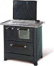 Nordica Extraflame ROMANTICA 3,5 Cucina a Legna con Forno 5 kW Ghisa 87x56 Nero Romantica 3.5
