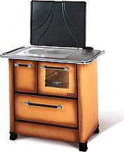 Nordica Extraflame ROMANTICA 3.5 Cucina a Legna Forno 5 kW Ghisa 88x57 Marrone