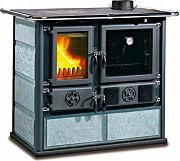 Nordica Extraflame ROSA Cucina a Legna con Forno 6.5 kW Ghisa 85x103 cm