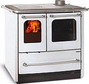 Nordica Extraflame SOVRANA EASY Cucina a Legna con Forno 6.5 kW Ghisa Bianco