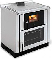 Nordica Extraflame VERONA Cucina a Legna da Incasso Forno 8 kW Ghisa 80x60 Inox