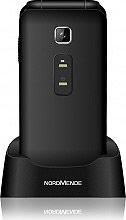 "Nordmende FLIP 100S Cellulare Dual Sim 2.4"" Bluetooth SOS Vivavoce Nero FLIP100S"