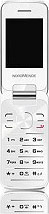 Nordmende LITE 401F WHITE Telefono cellulare Dual Sim Display 2.4 Bluetooth FM Vivavoce Lite 401F