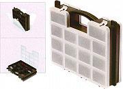 NOUVELLE PLASTIQUE Contenitore Porta Minuterie Valigetta 23 scomparti 29x23x7 h 370 SCREW