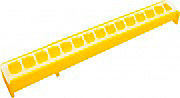 NOVITAL 0444A0000 Mangiatoia Pulcini con Barre in Plastica 50 cm