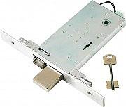 Nuova Feb Serratura Elettrica Porta 25 mm 4 Mandate 70 mm 160x80 mm 3 Ch. 697