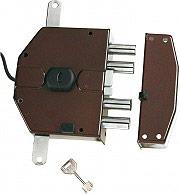 Nuova Feb Serratura Elettrica Legno Cilindro a Pompa 60mm Entrata 65 mm Dx 8230