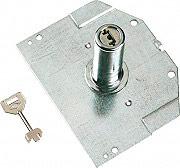 Nuova Feb 8315 Cilindro a Pompa con mostrina e 3 chiavi lunghezza 80 mm