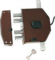 Nuova Feb Serratura Elettrica Legno Cilindro a Pompa 70mm Entrata 65 mm Sx 8230