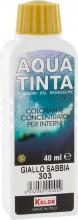 Nuovo Kolor AQUA 40-303 Aquatinta Per Interni ml 40 303 Giallo Sabbia Pezzi 10