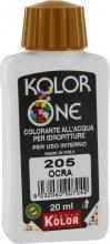 Nuovo Kolor KOLOR 20-205 Colorante Kolor One ml 20 N.205 Ocra Pezzi 12
