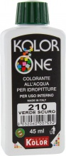 Nuovo Kolor KOLOR 45-210 Colorante Kolor One ml 45 N.210 Verde Scuro Pezzi 12