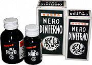 Nuovo Tintura per calzature Solvente pelli colore Nero Dinferno 50 ml 742