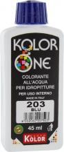 Nuovo Kolor KOLOR 45-203 Colorante Kolor One ml 45 N.203 Blu Pezzi 12