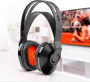 ONE FOR ALL Cuffie Wireless Senza Fili Stereo ad Archetto Jack 3.5 mm Nero HP1020